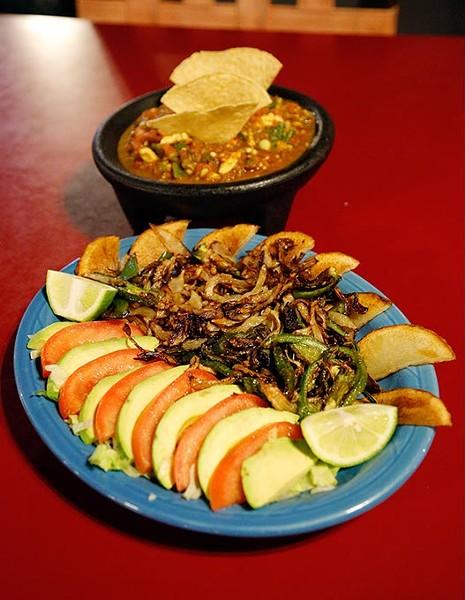 Botana and Special Salsa at Chelinos in Oklahoma City, Friday, April 17, 2015. - GARETT FISBECK