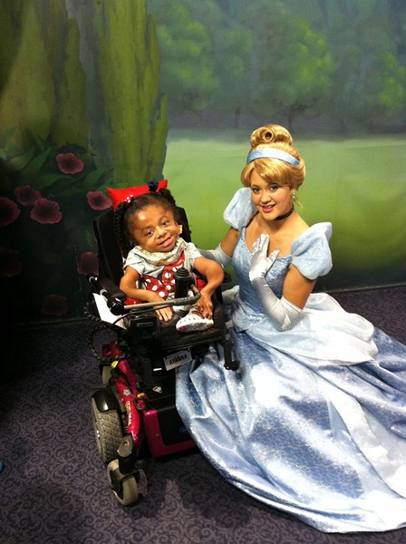 The Oklahoma Make-A-Wish Foundation made it possible for Ayanna to go to Disney World. - PROVIDED