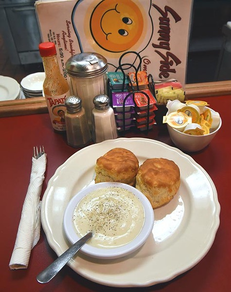 Biscuits & Gravy at Sunny Side Up in Moore.  (Mark Hancock