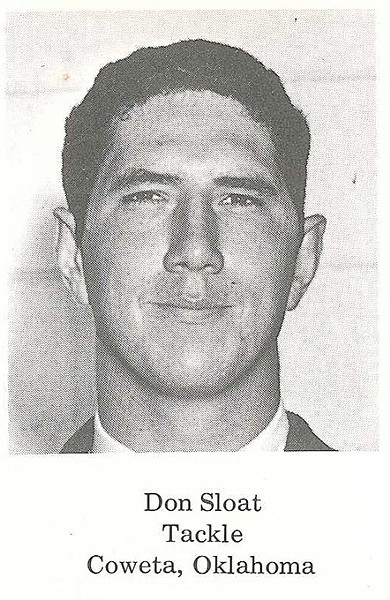 Don Sloat's yearbook picture. - PROVIDED