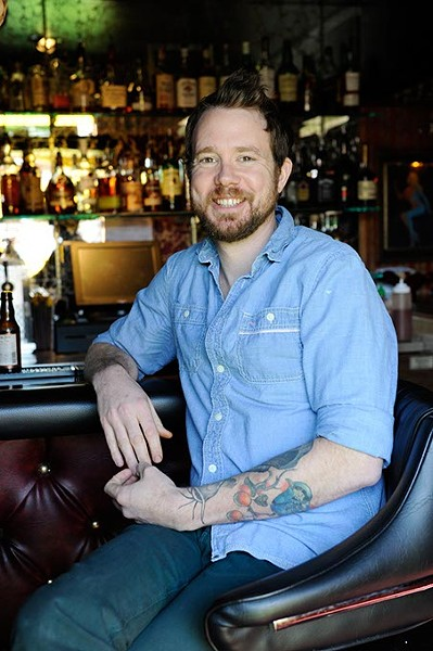 Jonathan Stranger at The R&J Lounge and Supper Club in Oklahoma City, Friday, March 6, 2015. - GARETT FISBECK