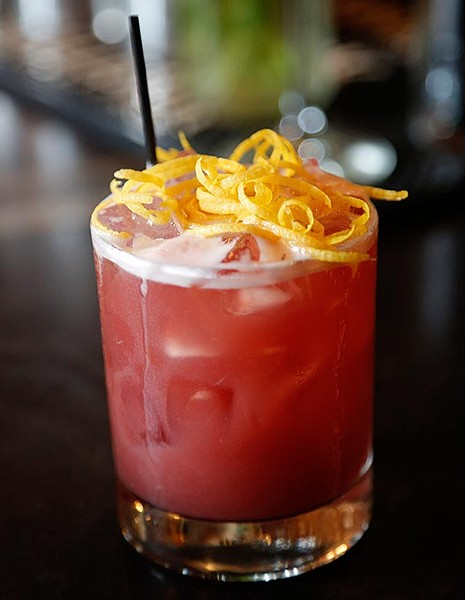 7th Street Hibiscus Fizz in Oklahoma City, Friday, April 24, 2015. - GARETT FISBECK