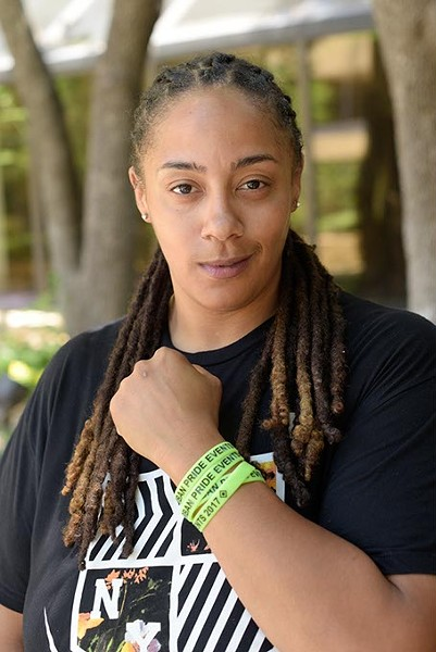 Brandi Davis founded OKC Urban Pride to support African-American members of the LGBTQ community. (Garett Fisbeck)