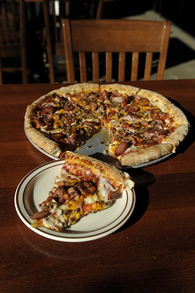 Big Country pizza at Hideaway | Photo Gazette / file