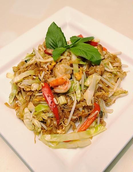 Shrimp Pad Kee Mao at Tana Thai in Oklahoma City, Thursday, Dec. 10, 2015. - GARETT FISBECK