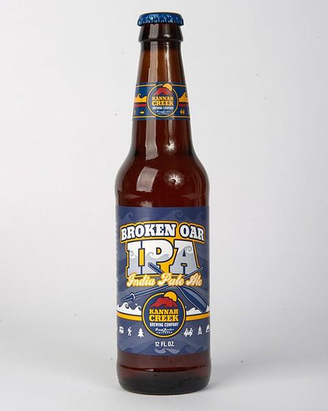 Kannah Creek Brewing Company Broken Oar IPA for Gazette Fall Brew Review 2016. - GARETT FISBECK
