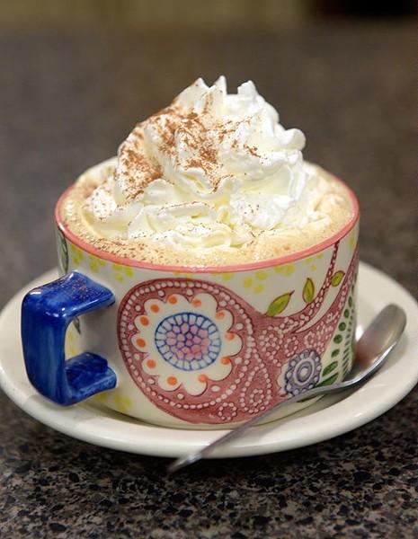 Mocha at The Buzz Coffee & Cafe, Thursday, Sept. 8, 2016. - GARETT FISBECK