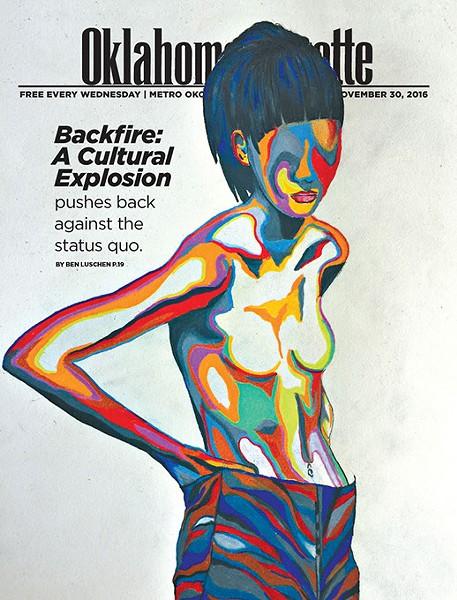 """(Oklahoma Gazette / artwork """"Identity Flow"""" by Brazen Wolf)"""