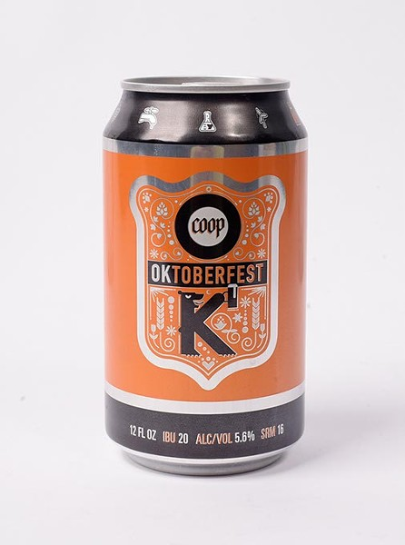Coop Oktoberfest for Fall Brew Review 2017. - GARETT FISBECK