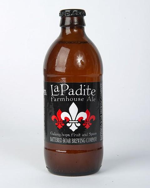 Battered Boar Brewing Company La Padite Farmhouse Ale for Gazette Fall Brew Review 2016. - GARETT FISBECK
