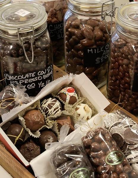 Chocolate at The Candy Basket in Norman, Thursday, Jan. 19, 2017. - GARETT FISBECK
