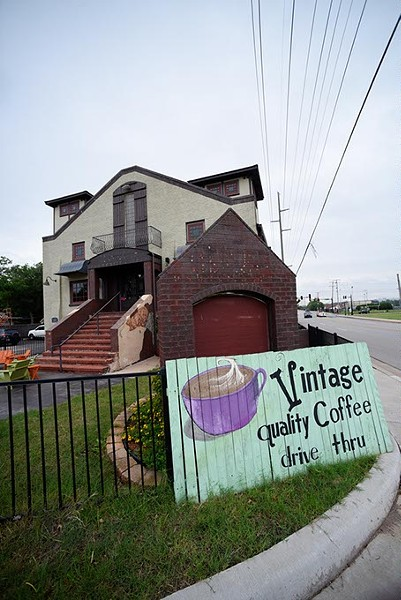 Vintage Coffee. - GARETT FISBECK