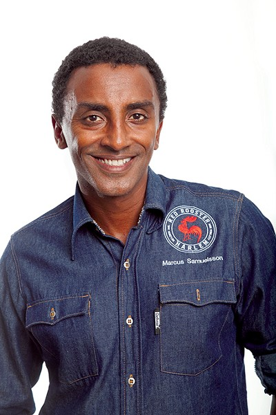 Chef Marcus Samuelsson spoke to 700 guests at the eighth St. Anthony Celebrity Chef event at Chevy Bricktown Events Center on Feb. 15. - PHOTO PROVIDED