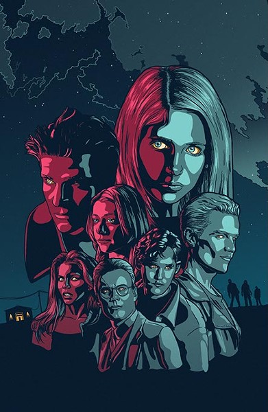 Buffy the Vampire Slayer art by Mike Allen. (provided)