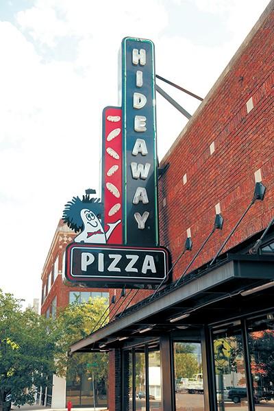 Hideaway Pizza in Oklahoma City, Tuesday, Aug. 5, 2015. - GARETT FISBECK