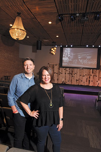 Tim and Christie Mannin founded OKC Community Church in an effort to serve a diverse population. - MARK HANCOCK