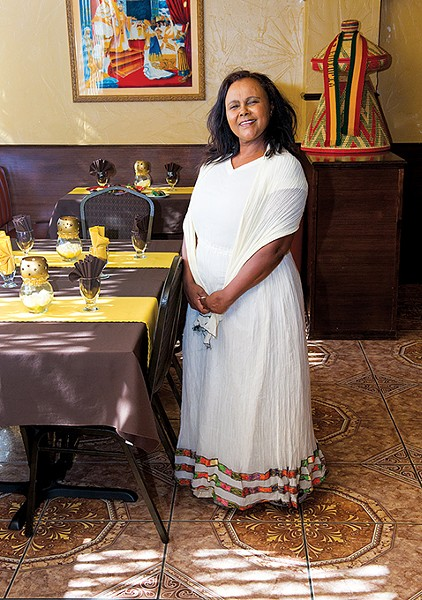 Mimi Younis of Queen of Sheba - GAZETTE / FILE