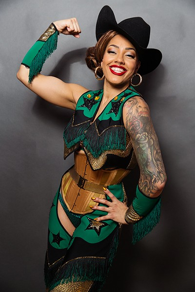 Sydni Deveraux is a headliner at Oklahoma City Burlesque Festival. - PROVIDED
