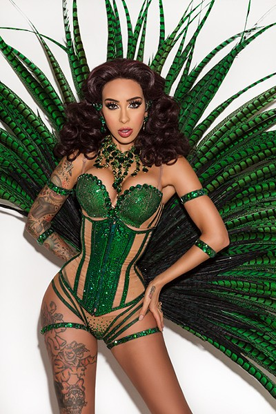 Raquel Reed, New Orleans Queen of Burlesque, is headlining 2018's - Oklahoma City Burlesque Festival. - PROVIDED