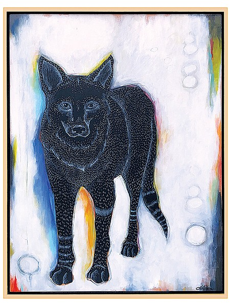 """""""Coyote"""" by Heather Gorham - PROVIDED"""