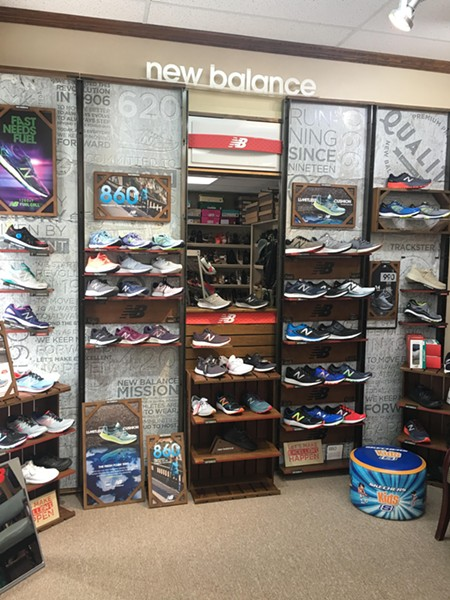 Daniels Shoes carries a large selection of children's footwear. - KIMBERLY LYNCH