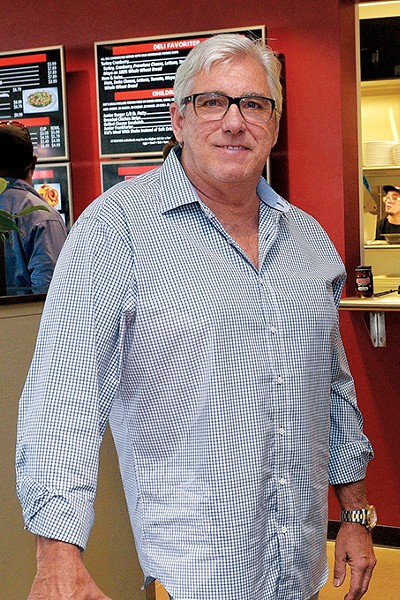 Rick Haynes co-owns Johnnie's Charcoal Broiler with his brother David. - GAZETTE / FILE
