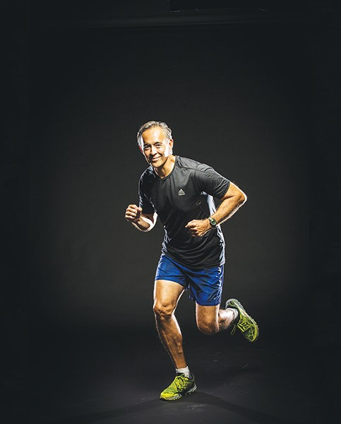 James Bost survived pancreatic cancer and will participate in American Cancer Society's Run for Hope. - SIMON HURST / AMERICAN CANCER SOCIETY / PROVIDED