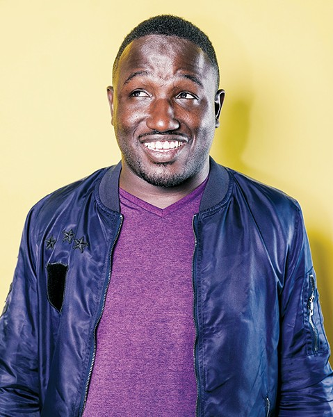Stand-up comic Hannibal Buress will perform Sept. 12 at Tower Theatre. - KELLEN NORDSTROM / PROVIDED