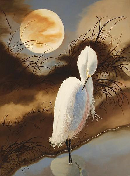 """Moondance 3"" by Melodee Martin Ramirez - JRB ART AT THE ELMS / PROVIDED"