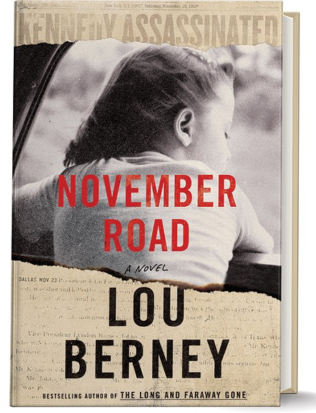 November Road, set in the days after the Kennedy assassination, was published by HarperCollins last month. - PROVIDED