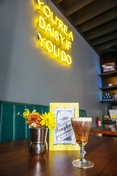 Ponyboy, 423 NW 23rd St., uses KLLR coffee to create its Uncle Joe's Coffee cocktail. - MALORY CRAFT