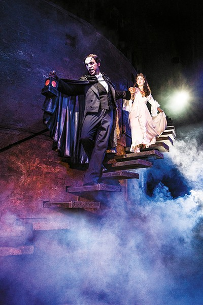 Quentin Oliver Lee and Eva Tavares star in the North American touring production of Andrew Lloyd Webber's The Phantom of the Opera. - MATTHEW MURPHY / PROVIDED
