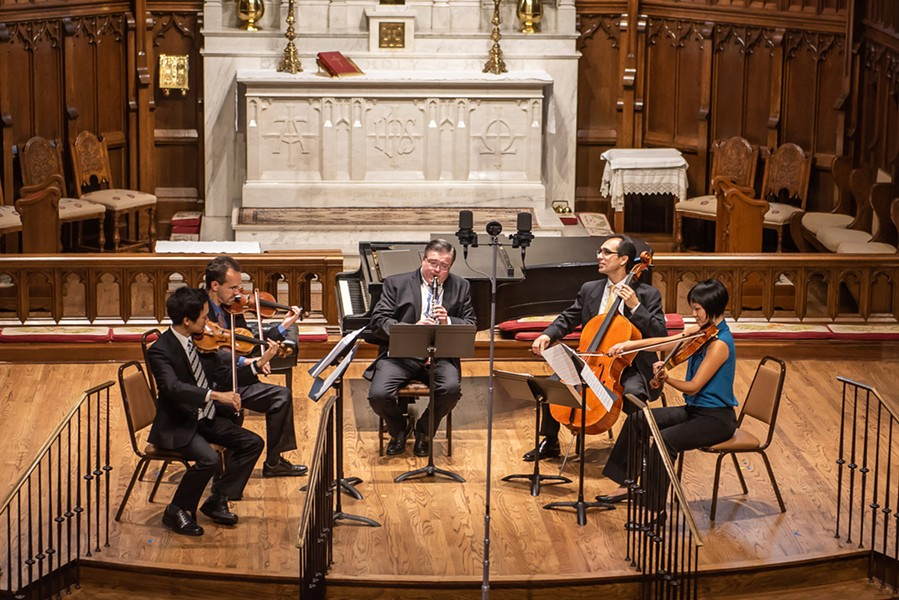 Russian Romantics, Brightmusic Chamber Ensemble's third concert of the season and its first of 2019, is Jan. 15 at St. Paul's Cathedral. - PROVIDED