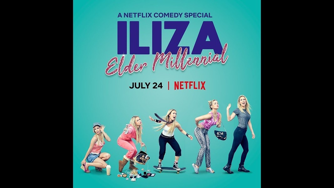 Iliza Shlesinger's comedy special Elder Millennial is on Netflix. - NETFLIX / PROVIDED