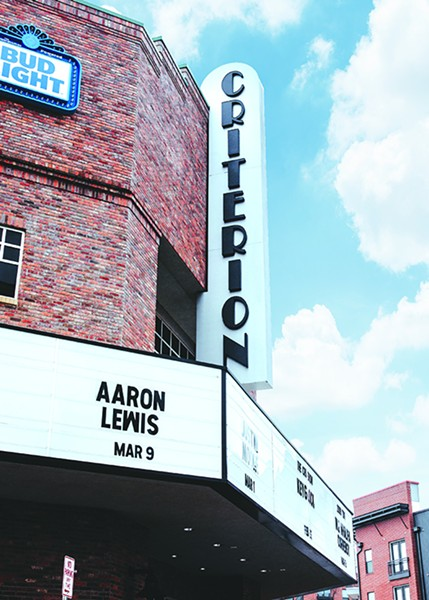 The Criterion, a 3,300-capacity venue in east Bricktown, recently sold out its Aug. 16 Vampire Weekend concert. - ALEXA ACE
