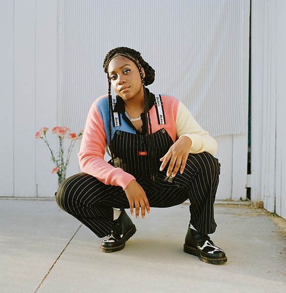Chicago rapper Noname performs at a ticketed show Sunday at ACM@UCO Performance Lab. - CHANTAL ANDERSON / PROVIDED