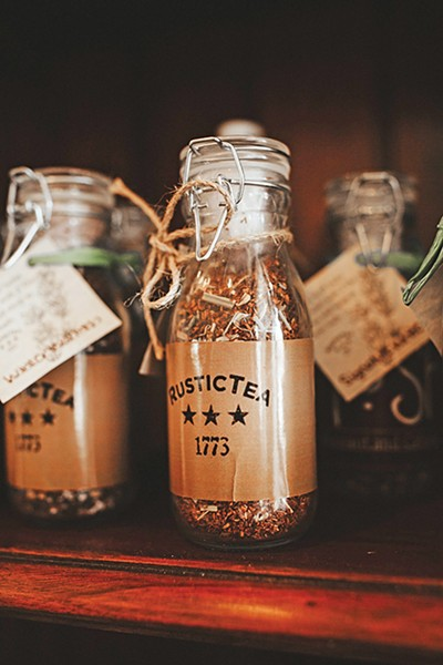 Channing Winblad markets her Rustic 1773 Mercantile teas for their medicinal and restorative qualities. - ALEXA ACE