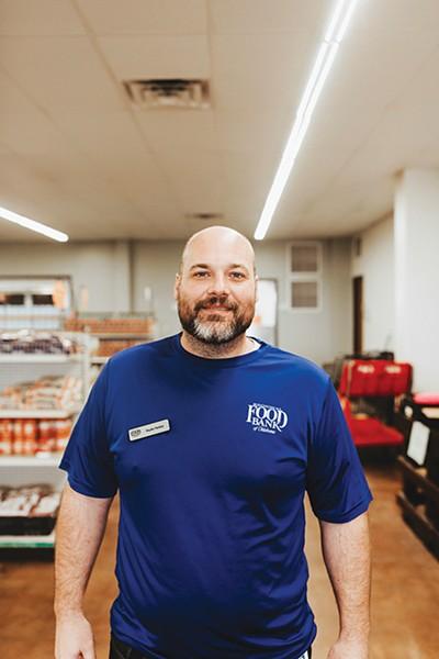 Skyler Parker is director of Moore Food & Resource Center. - ALEXA ACE
