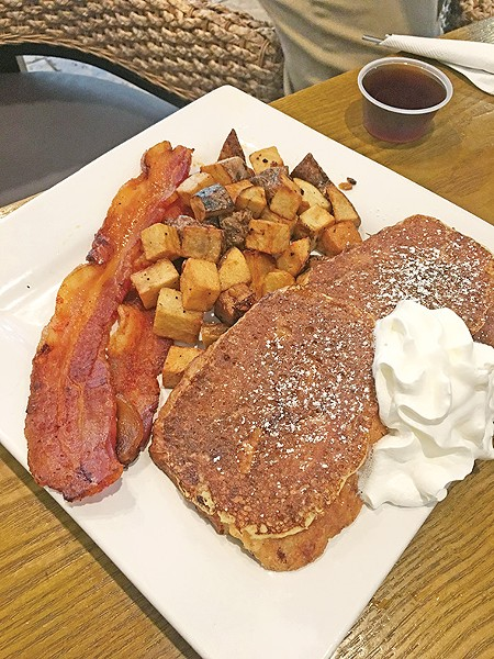 Brioche French toast at Chae Cafe & Eatery - JACOB THREADGILL