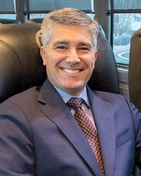 Vonlane CEO Alex Danza founded the company in 2014 with two motor coaches going between Austin and Dallas. Today, Vonlane services five major cities and adds Oklahoma City Jan. 6. - PROVIDED