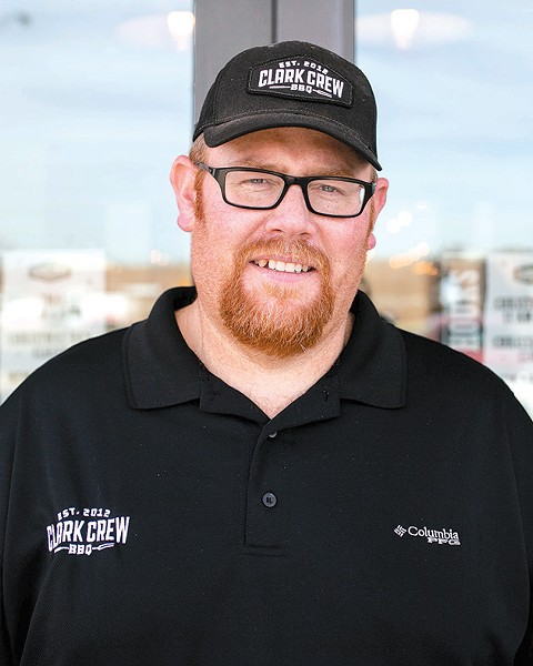 Travis Clark's Clark Crew has won more than 50 grand championships on the competition barbecue circuit. - ALEXA ACE