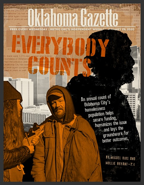 Editor's note: This article is part of a collaborative project about homelessness in Oklahoma City by The Curbside Chronicle, Oklahoma Gazette and Big If True. This project is funded through a grant by Inasmuch Foundation and Ethics & Excellence in Journalism Foundation facilitated by the Center for Cooperative Media at Montclair State University. - INGVARD ASHBY