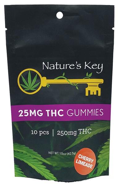 Nature's Key 25mg gummies - PROVIDED