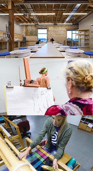 Studio School will offer more than 50 art classes for teens and adults of all experience levels. - PROVIDED