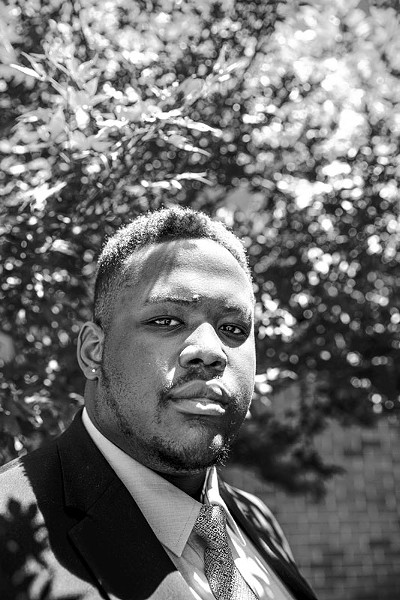 Dominique Gray has been dealing with housing insecurity since he was 17 years old. - NATHAN POPPE / CURBSIDE CHRONICLE / PROVIDED