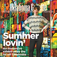 Cover Teaser: Summer lovin' this larger-than-life exhibit at Oklahoma Contemporary