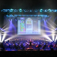 Soundtrack to video games performed with OKC Phil at Civic Center Music Hall