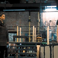 Crystal and Joshua McGowen play Jo Galloway and Daniel Kaffee in Pollard Theatre Company's production of A Few Good Men. | Photo Pollard Theatre Company / provided