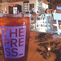 The Press is located at 1610 N. Gatewood Ave. in 16th Street Plaza District.