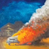 """Car on Fire in the Cul de Sac"" by J. Chris Johnson"